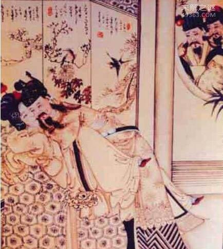 熙陵幸小周后图,元朝画家为抹黑宋朝皇室所作