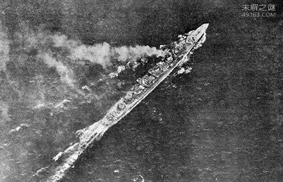 """发现二战日本帝国海军最快驱逐舰""""岛风号""""残骸"""