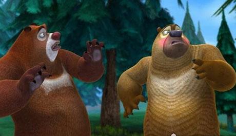 熊出没95集诡异,看会让你有种毛骨悚然的感觉(千万别关掉声音)