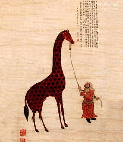 郑和下西洋带回一神兽,似牛非牛像鹿又不是鹿