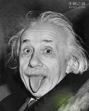 爱因斯坦吐舌头,照片的版权将归中国