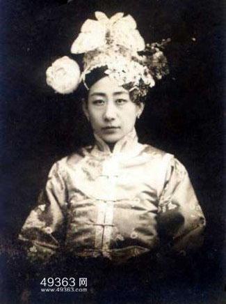 清朝最美的格格,真正美丽的公主与格格(珍贵老照片)