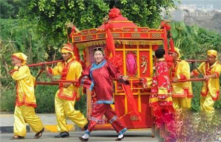 古代女子结婚为何要坐花轿?境与乾隆皇帝有关